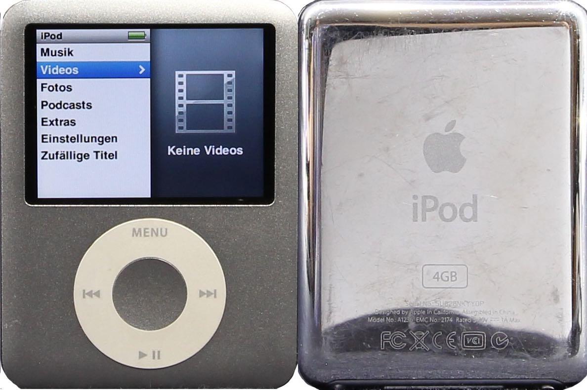 modelle iphone ipod bestimmen bestimmen sie ihr modell iphone rh profi repair de iPod Nano 2G iPod Nano 5G