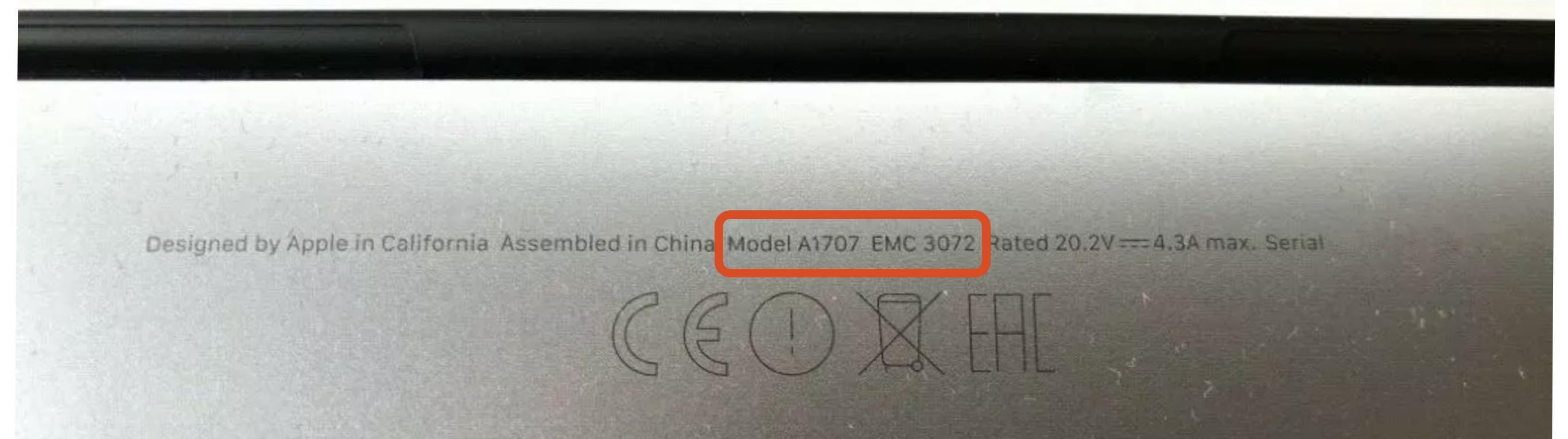 bestimmung der seriennummern profi repair reparatur f r apple iphone canon ixus. Black Bedroom Furniture Sets. Home Design Ideas